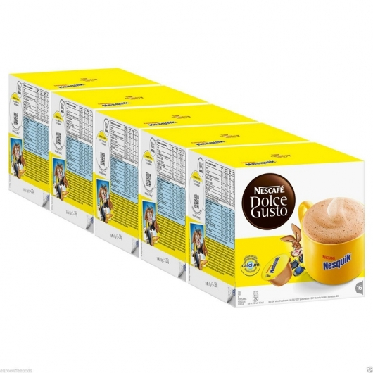 PACK 5X DOLCE GUSTO NESQUIK