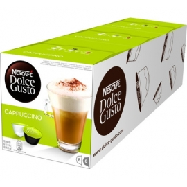 Dolce Gusto Capsulas Cafe Cappuccino Pack 3x16    Capuchino