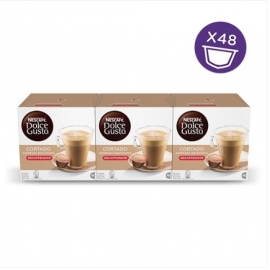 DOLCE GUSTO PACKS 3 CORTADO DESCAFDO