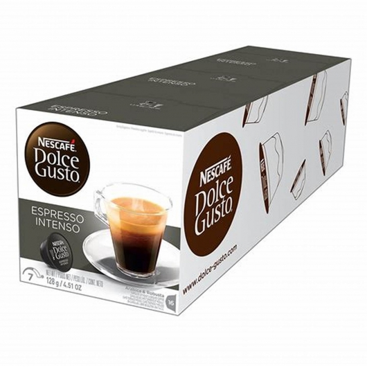 DOLCE GUSTO PACKS 3 ESPRESSO INTENSO