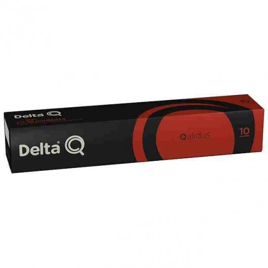 Cápsulas Delta Q® Qalidus Fuerte e Intenso