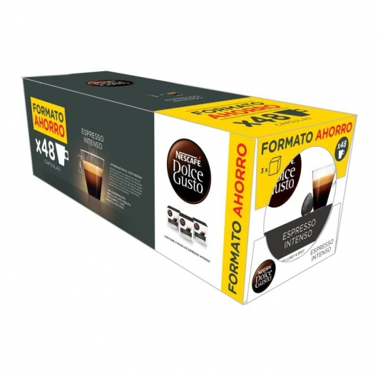 NESCAFÉ® Dolce Gusto® Espresso Intenso 48 Cápsulas (Pack Ahorro)