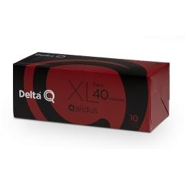 CAPSULAS DELTA Q PACK XL 40 CÁPSULAS QALIDUS espresso intensidad 10