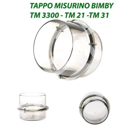 Jarra medidora 100 ml, vaso para la apertura de tapa apto para Thermomix TM21 TM31