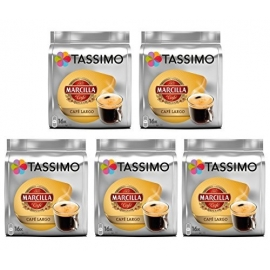 TASSIMO MARCILLA CAFE LARGO 5 PACK