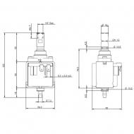 Bomba de agua para cafeteras Ulka E Type EP77 -48w SAECO PHILIPS DELONGHI