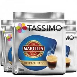 TASSIMO MARCILLA DESCAFEINADO 5 PACK - 80 capsulas
