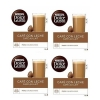 DOLCE GUSTO PACK 4 CAFE/LECHE