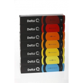CAPSULAS DELTA Q - SET Básico  7x10  70 capsulas