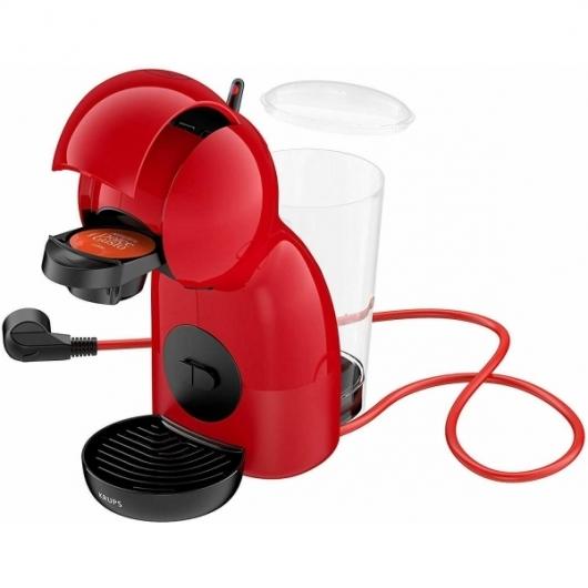 Cafetera Capsulas Nescafe Dolce Gusto Expresso Krups Piccolo XS KP1A05 -Roja