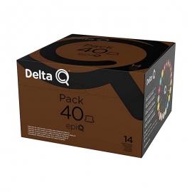 DELTA Q PACK  40 CÁPSULAS  Epic