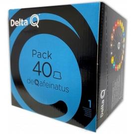 DELTA Q® Pack 40 Capsulas DEQAFEINATUS EXPRESSO