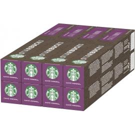 Starbucks Caffè Verona Nespresso Cápsulas Café De Tostado Intenso Pack 80 unidades