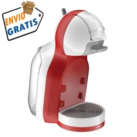 CAFETERA DOLCE GUSTO MINI ME DELONGHI EDG 305WR  ROJA Y BLANCA