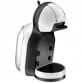 Cafetera cápsulas Dolce Gusto Delonghi Mini Me EDG305WB blanca y negra 15bar