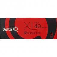 PACK XL 40 capsulas Qharacter, espresso intensidad 9, Delta Q